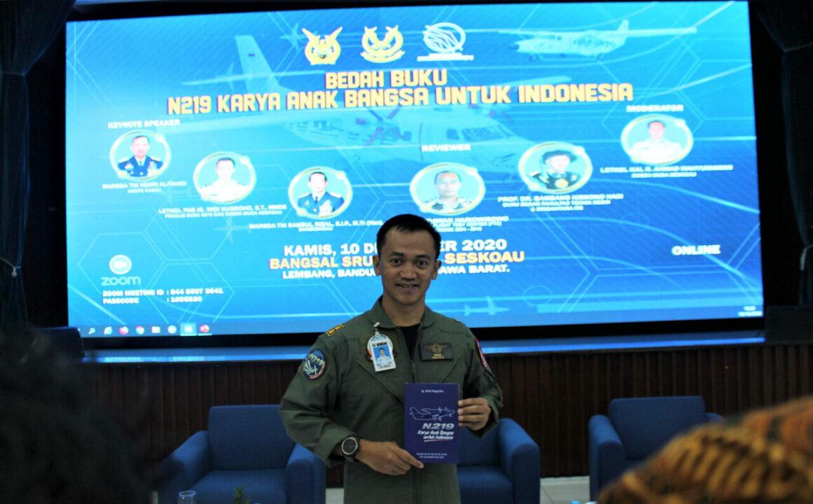 """Seskoau Gelar Bedah Buku """"N219 Karya Anak Bangsa Untuk Indonesia"""""""
