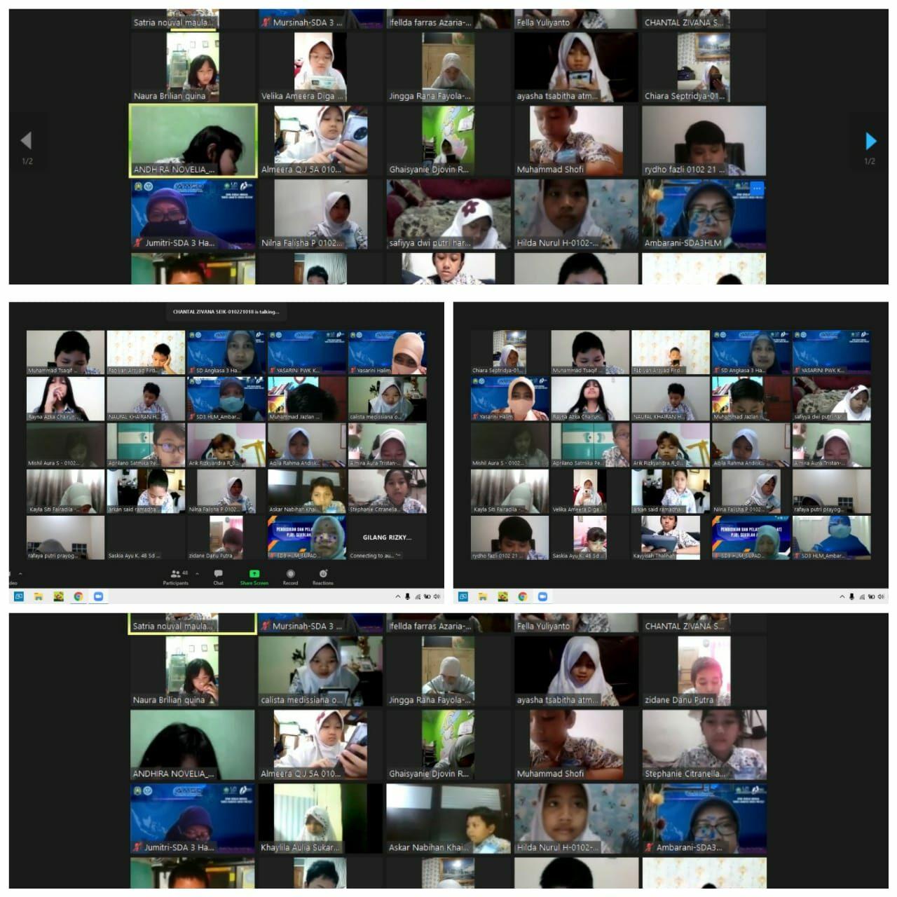 Meski Secara Online, Ribuan Murid Sekolah Angkasa Halim Tetap Semangat Ikuti AMSO 2020