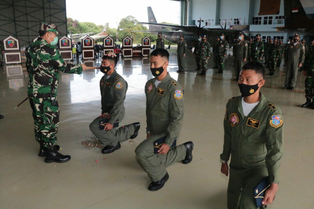 Tiga Penerbang Skadron Udara 2 Selesai Ikuti Pendidikan Kaptensi dan Transisi