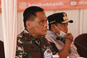Danlanud Wiriadinata Menghadiri Kuker Forkopimda Jawa Barat.