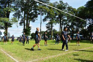 Turnamen Bola Volly Antar Stuan Kerja Di Lanud Soewondo