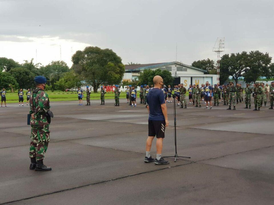 Komandan Lanud Soewondo Ambil Apel Khusus