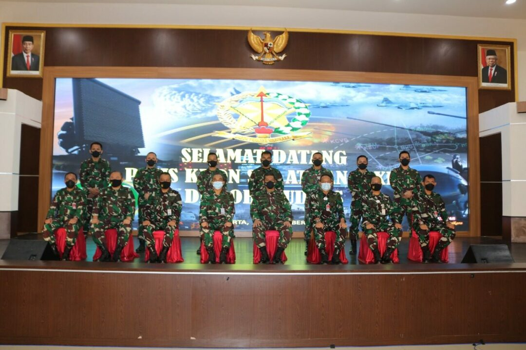 Siswa Kursus Athan Angkatan XII KKDN di Kohanudnas