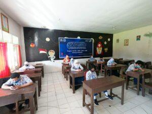 Komandan Lanud Soewondo dan Ketua Yasarini Pengurus Cabang Lanud Soewondo ikuti pembukaan Festival Edukasi Sekolah Angkasa (FESA) ke IV tahun 2020