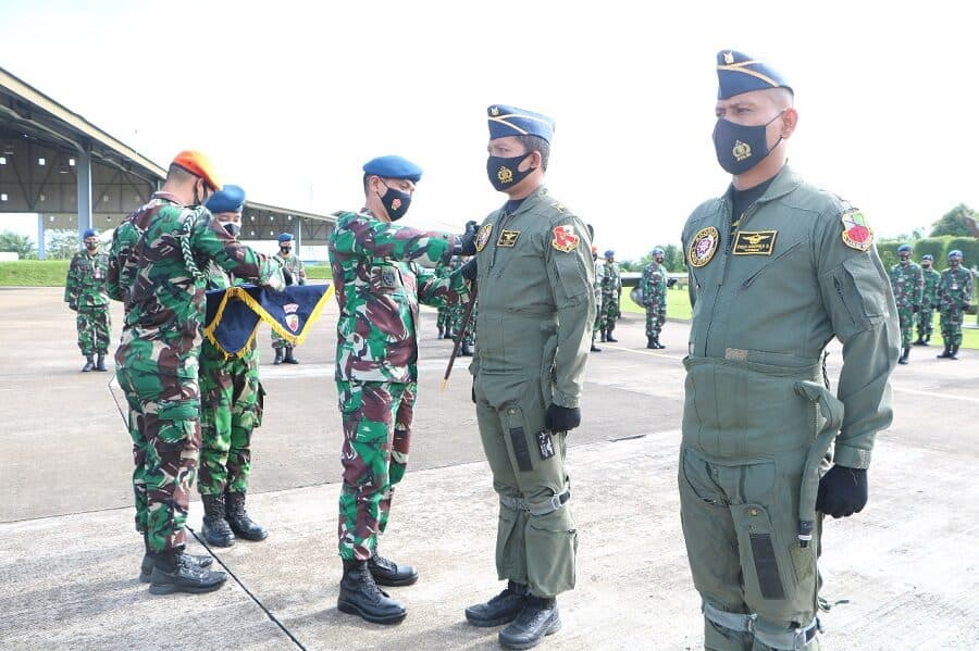 Dua Penerbang Tempur Skadron Udara 1 Raih 2000 Jam Terbang