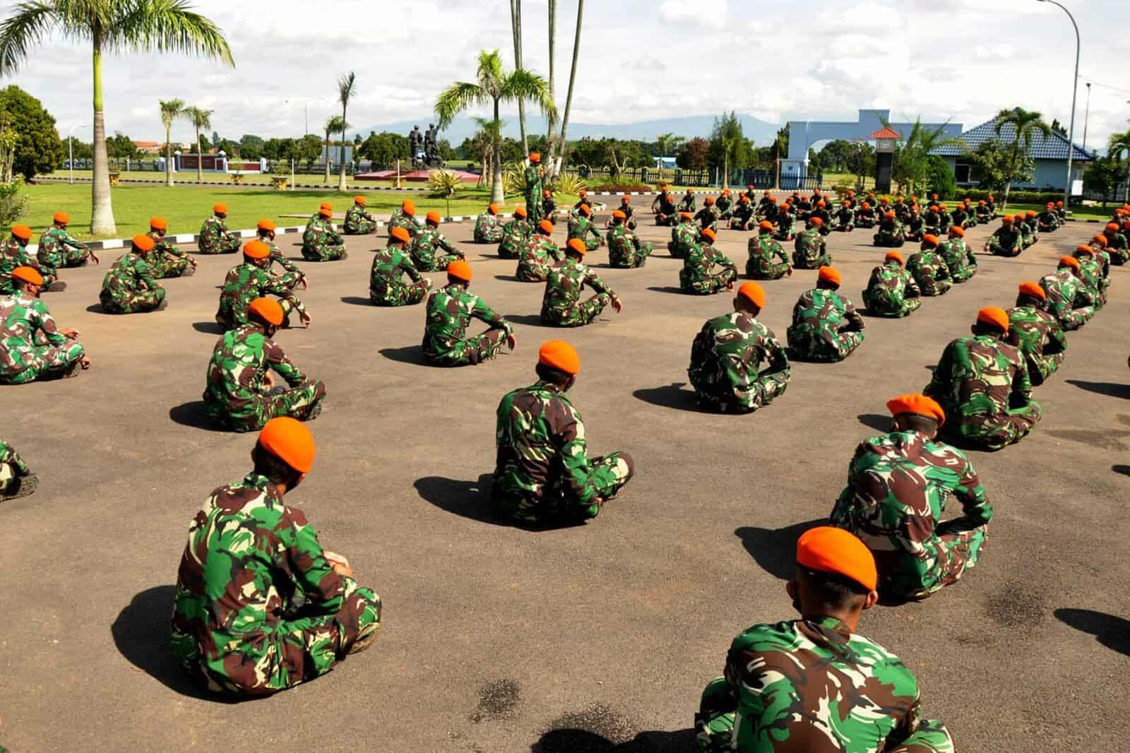 Prajurit Eks Komando A-44 Ikuti Ceramah Bintal dan Hukum