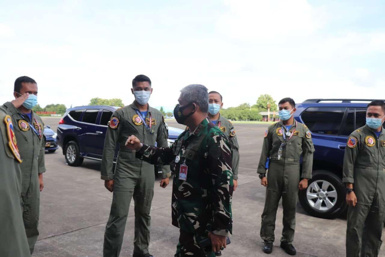 Komandan Lanud Sultan Hasanuddin Terima Kunjungan Pangkoopsau II