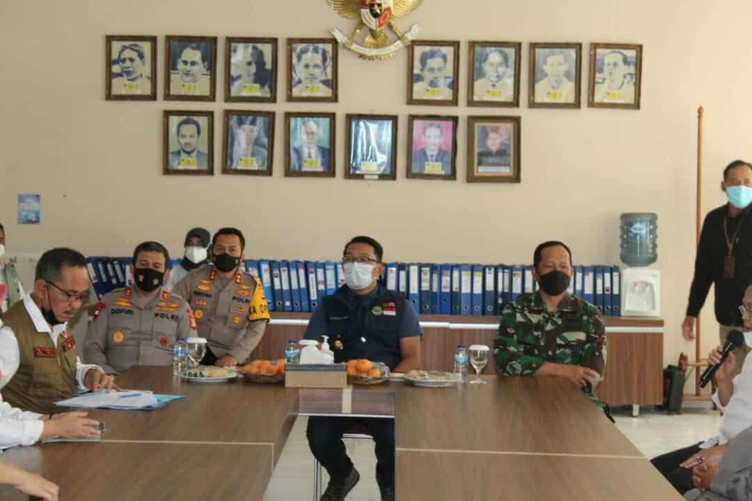 Danlanud Wiriadinata Ikuti Kunjungan Kerja Gubernur Jabar Di Tasikmalaya