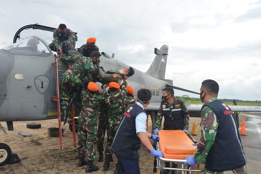 Pangkalan TNI AU Supadio Gelar Latihan Crash Team