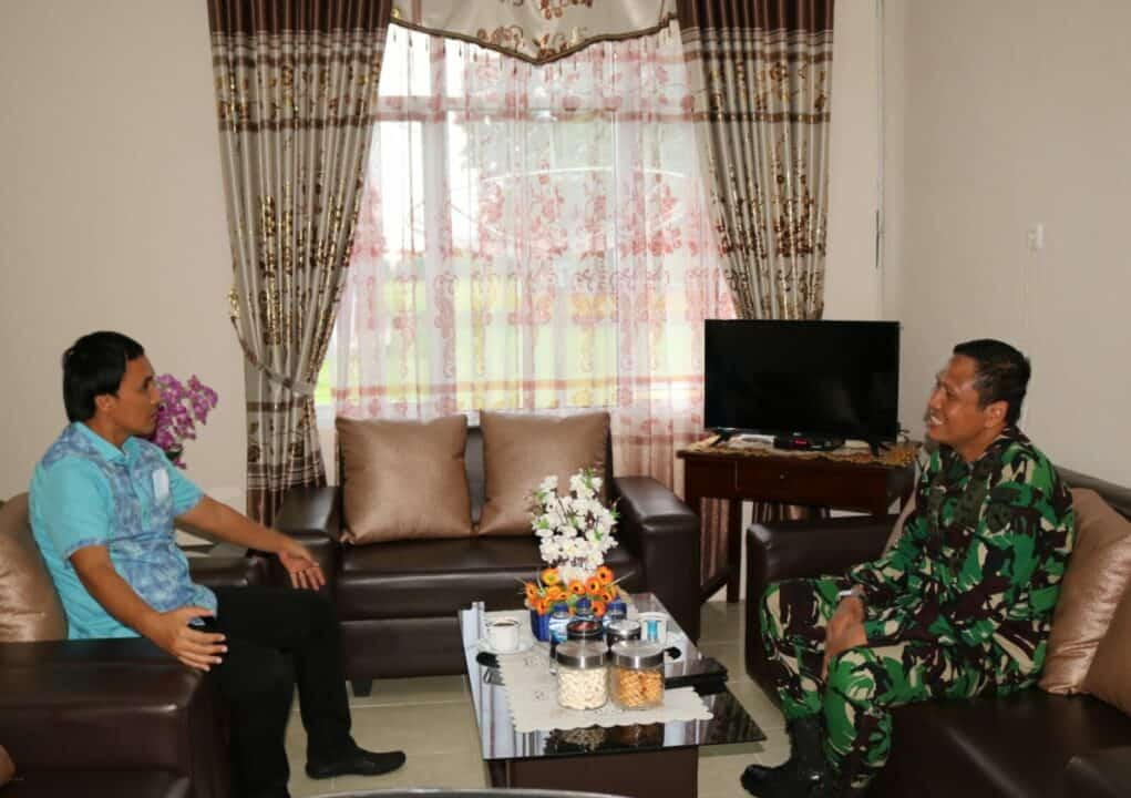 Danlanud Pangeran M. Bun Yamin Terima Kunjungan Wakil Bupati Tuba
