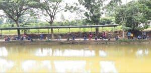 Lanud Pangeran M. Bun Yamin Gelar Rekreasi Mancing Bersama