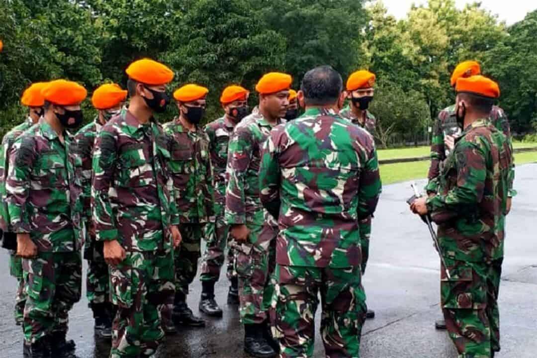 Danwing II Paskhas Memberangkatkan Pasukan Penanggulangan Bencana Ke Mamuju