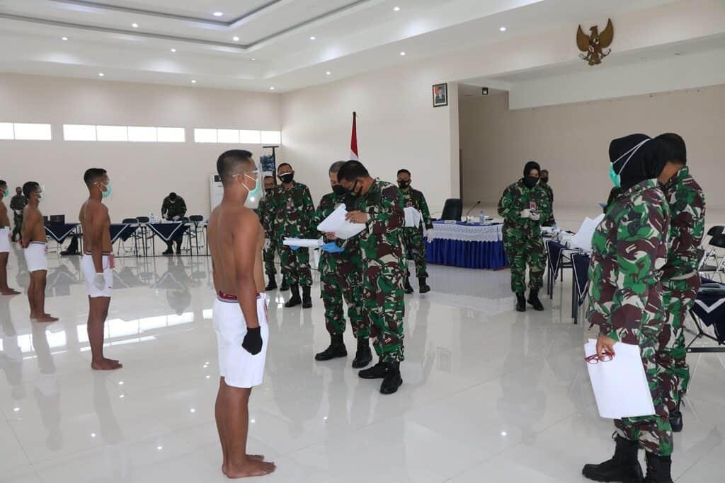 Sidang Panthukir Catam TNI AU Khusus Paskhas Tahun 2021 Panda Lanud Abdulrachman Saleh