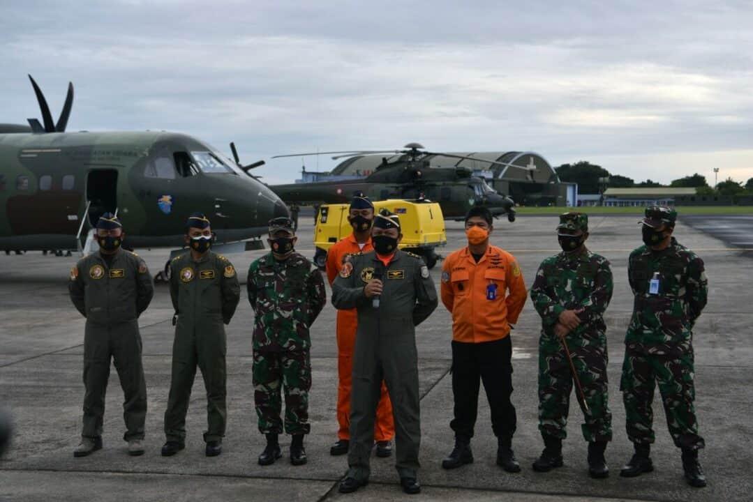 Lanud Halim Siapkan CN-295 dan Posko Bantu Pencarian Sriwijaya Air SJ-182