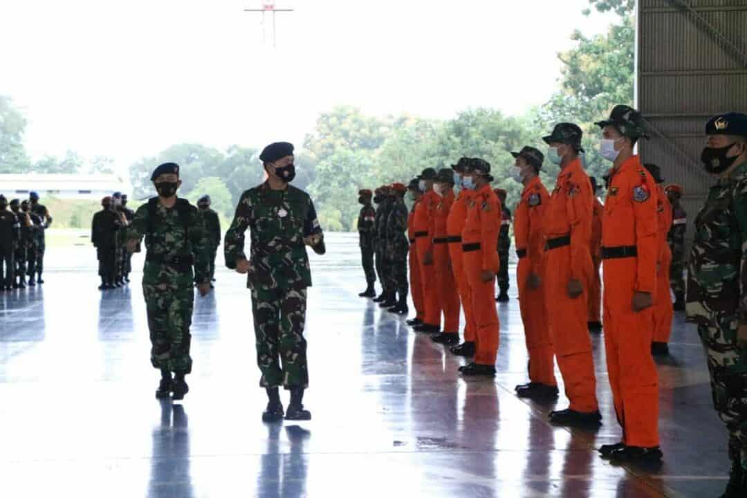 Komandan Lanud Sultan Hasanuddin Buka Latihan Survival Dasar