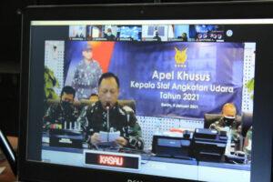 Komandan Wingdikkal mengikuti Aple Khusus Tahun 2021
