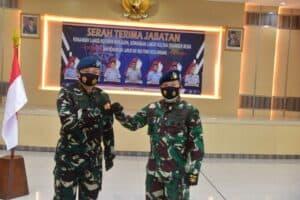 Terima Tongkat Komando, Marsma TNI Andi Kustoro Resmi Jabat Danlanud Rsn