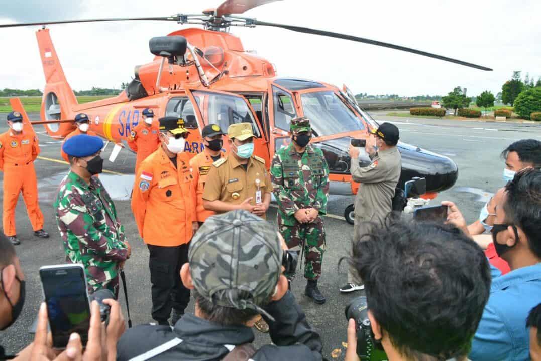 Lanud Sjamsudin Noor Turut Bantu Distribusikan Bantuan Presiden RI Kepada Korban Terdampak Banjir di Beberapa Wilayah Provinsi Kalimantan Selatan Melalui Jalur Udara