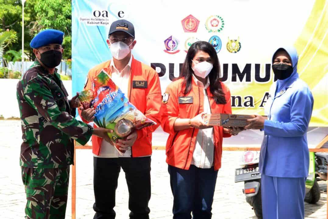 Tangani Banjir Kalimantan Selatan, Yayasan NUH Peduli Indonesia Salurkan Bantuan Sembako dan Satu Unit Helikopter ke Provinsi Kalsel Melalui Lanud Sjamsudin Noor