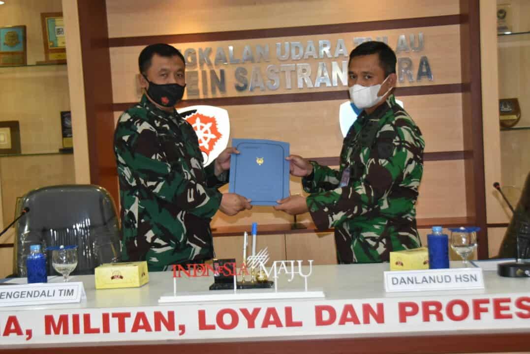 Exit Briefing Wasrikkap Itjenau di Lanud Husein Sastranegara
