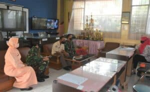 Lanud Husein Sastranegara Sosialisasi SMA Pradita Dirgantara