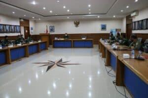 Jelang Akhir Masa Jabatannya, Danlanud Iswahjudi Pimpin Exit Briefing