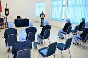 Ketua PIA AG Cab 21/D I Lanud Hang Nadim, Pimpin Acara Serah Terima Jabatan Pengurus PIA AG Cab 21/D I Lanud Hang Nadim