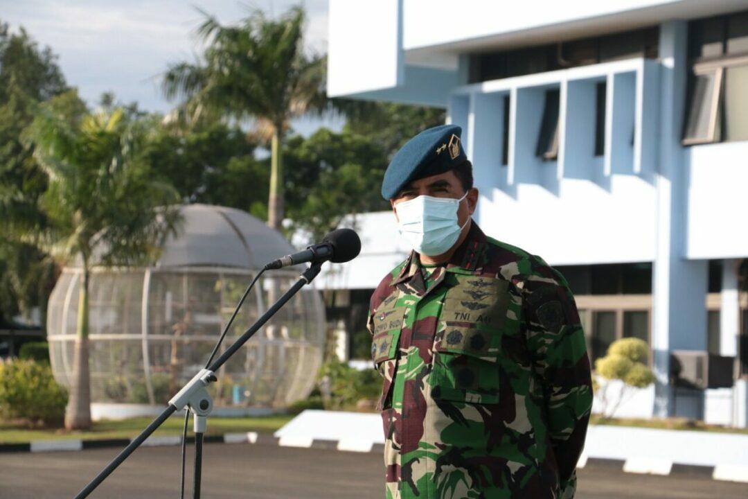 Pangkoopsau I, Apel Khusus di Awal Tahun 2021