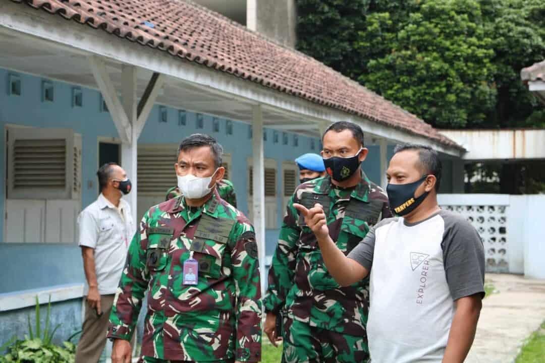 Danlanud Husein Sastranegara Laksanakan Pengecekan Aset
