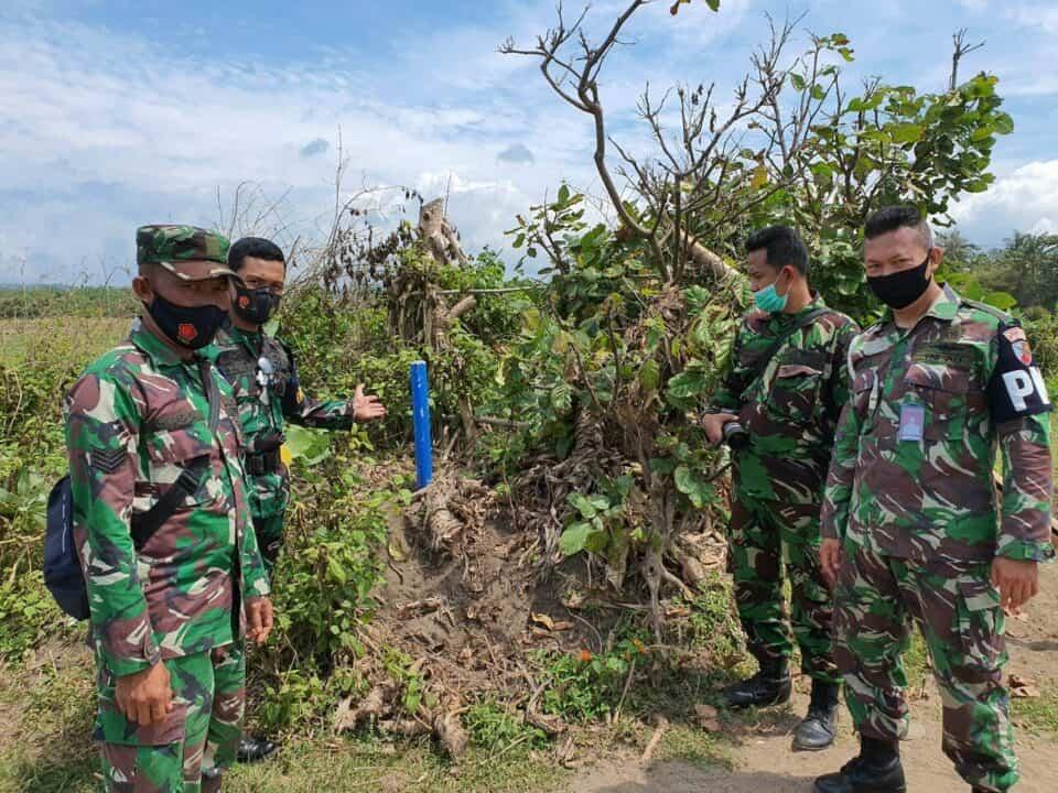 Amankan Aset Negara, Lanud Husein Sastranegara Patroli Patok Batas Aset di Cikelet