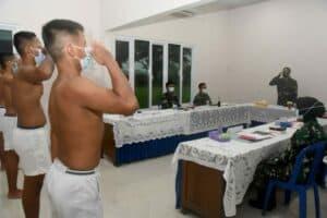 Lanud Wiriadinata Laksanakan Pantukhir Casis Tamtama Khusus Paskhas