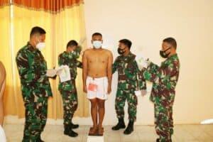 Lanud Pangeran M. Bun Yamin Kirim Perwakilan Tamtama Khusus Paskhas Ke Sidang Pusat