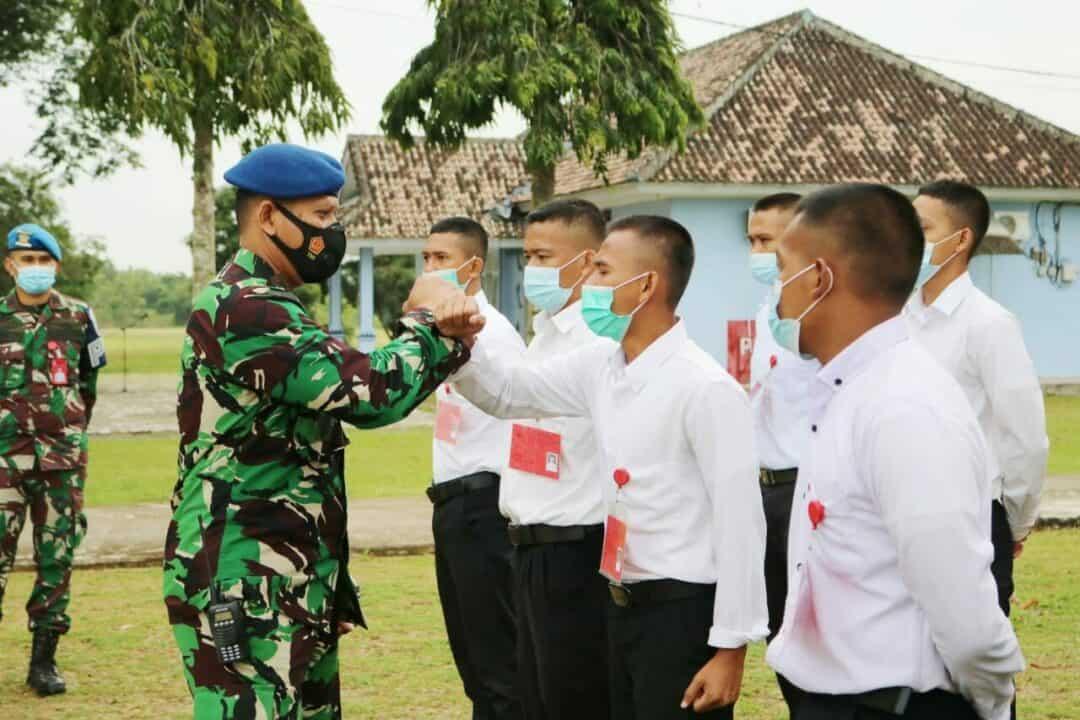 Danlanud Pangeran M. Bun Yamin Lepas 10 Casis Tamtama Khusus Paskhas ke Seleksi Pusat