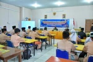 Lanud RHF Berikan Sosialisasi Jiwa Patriotisme di SMA N 2 Tanjungpinang