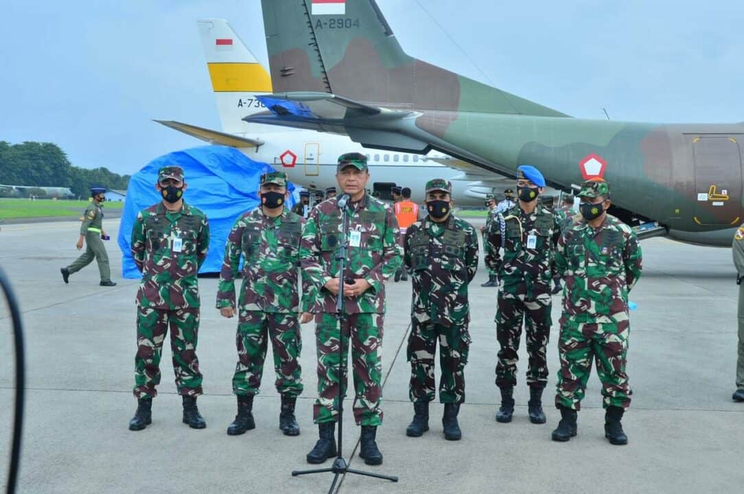 Percepat Penyaluran Bantuan TNI AU Kirim 14,9 Ton ke Mamuju Sulbar dan Samarinda Kalsel