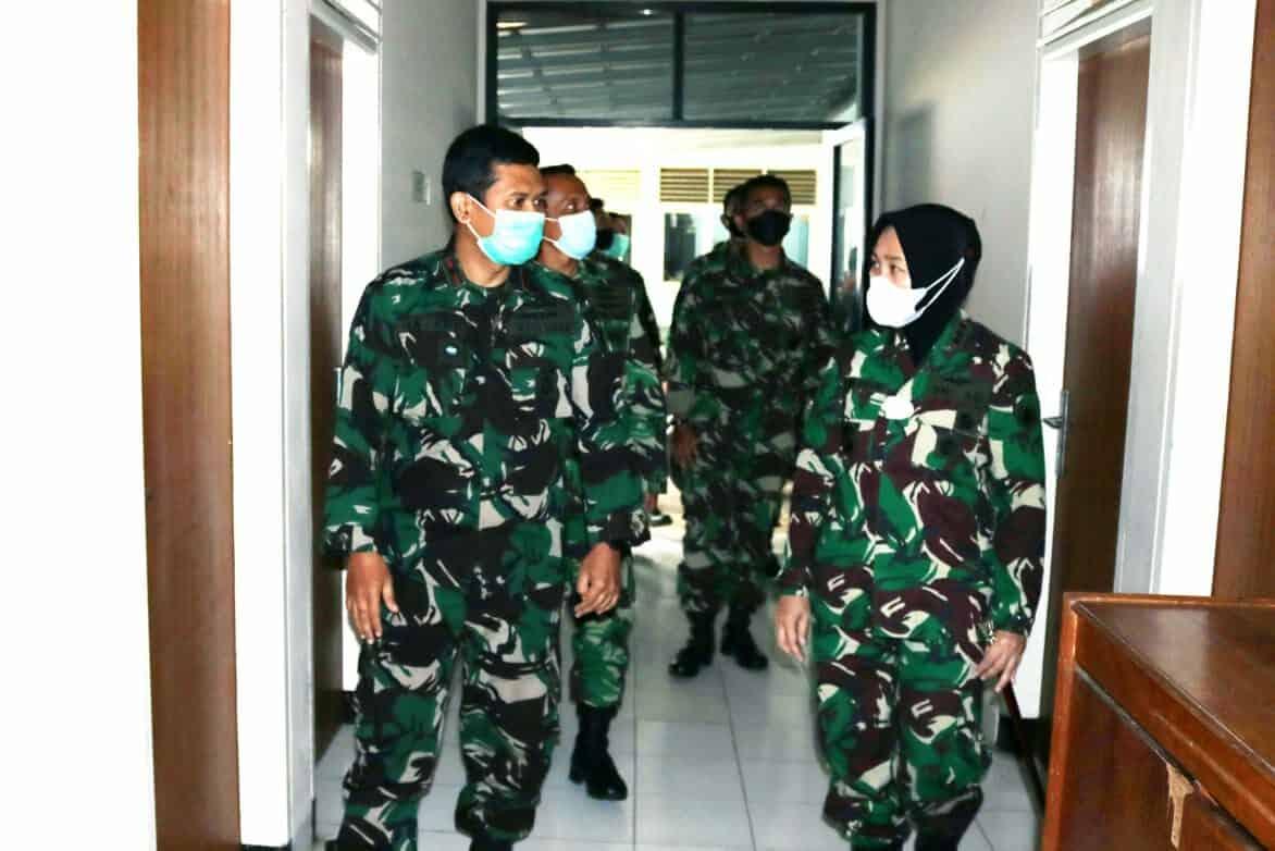 Danwingdikum Cek Sarana dan Prasarana Sesa di Bandung