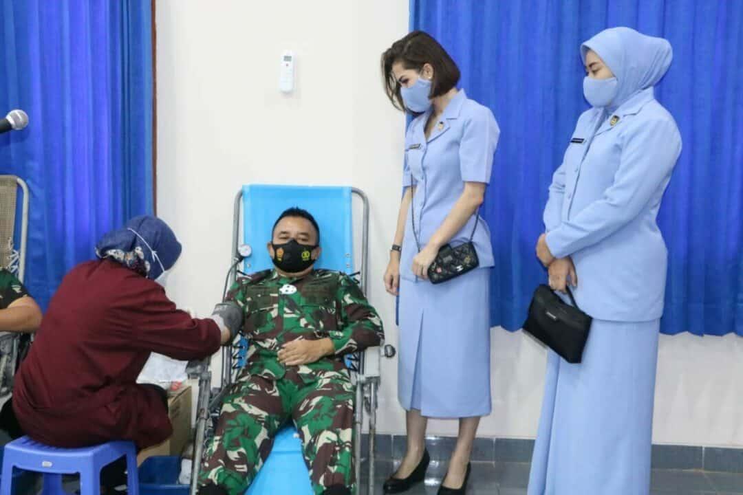 Personel Wingdiktek Donor Darah Untuk Cukupi Ketersediaan Darah Di Masa Pandemi Covid-19