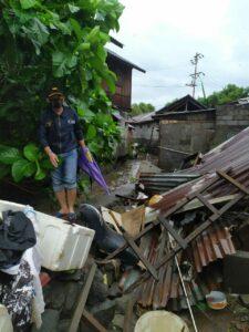 *AKABRI UDARA tahun 1997 Antar Bantuan Sembako Korban Banjir Manado*