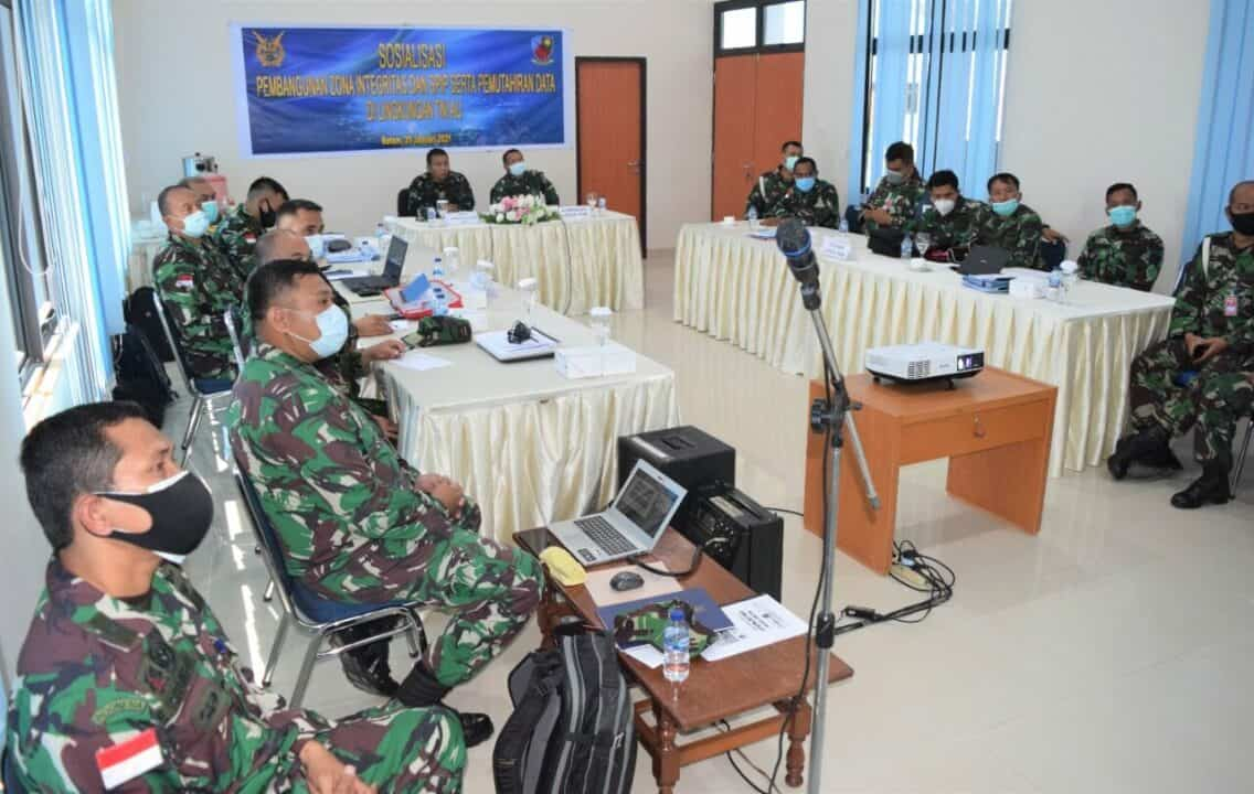 Tim Zona Integritas Kunjungi Lanud Hang Nadim