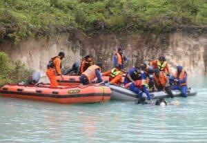 Lanud Iskandar Laksanakan Gelar Latihan Gabungan Simulasi Penangganan Bencana Banjir