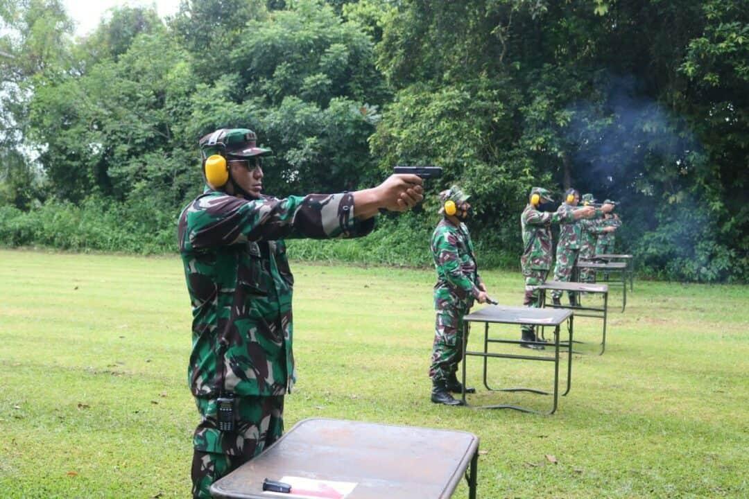 Personel Lanud Pangeran M. Bun Yamin Asah Kemampuan Menembak
