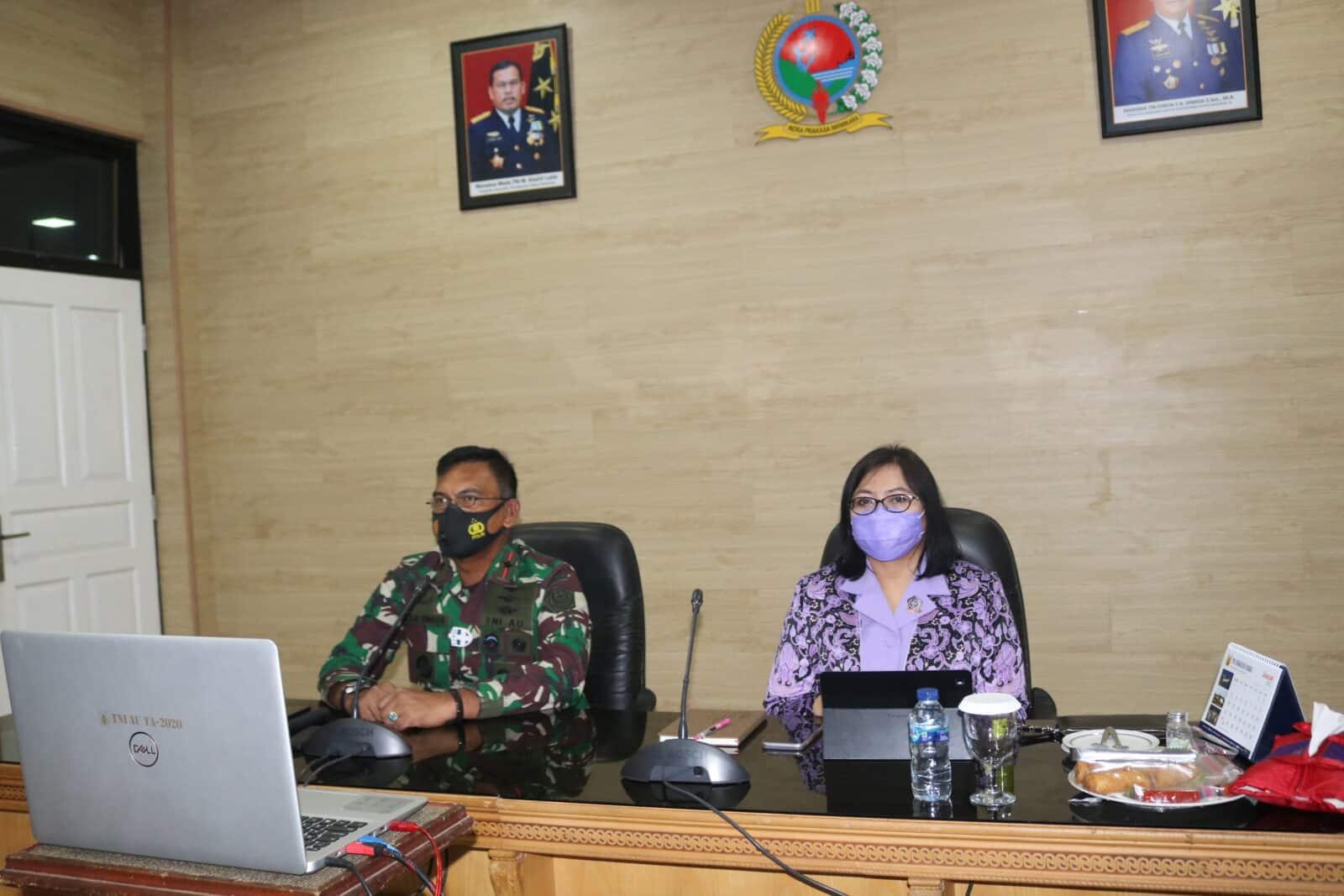 Pangkosekhanudnas III Mengikuti Talk Show Panglima TNI
