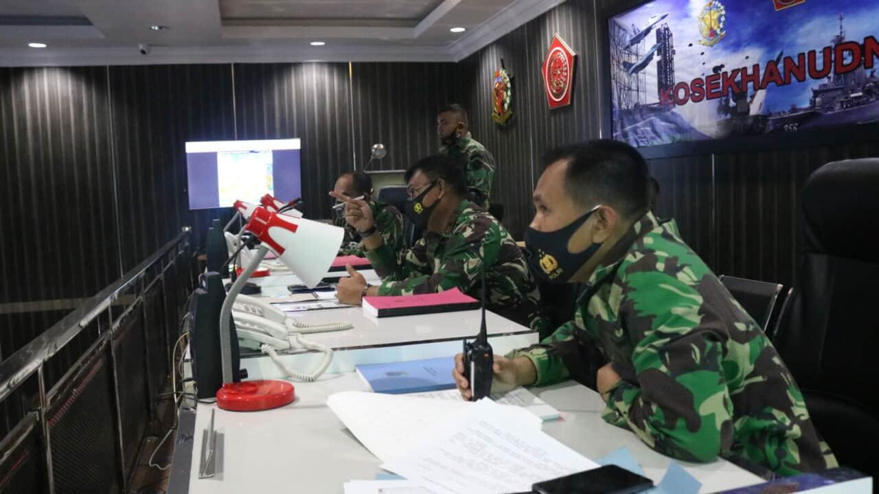 Latihan Simulasi Penanganan Lasa Unschedule Dikosekhanudnas III