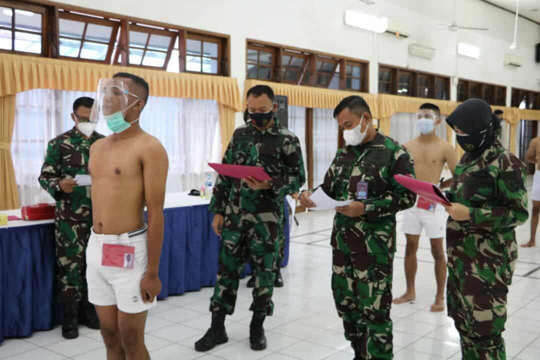 Danlanud Husein Sastranegara Pimpin Sidang Pantukhir Khusus Tamtama Paskhas
