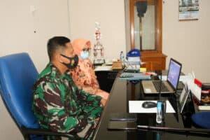 Danlanud Dan Ketua Yasarini Lanud Pangeran M. Bun Yamin Ikuti Upacara Penutupan FESA 2020