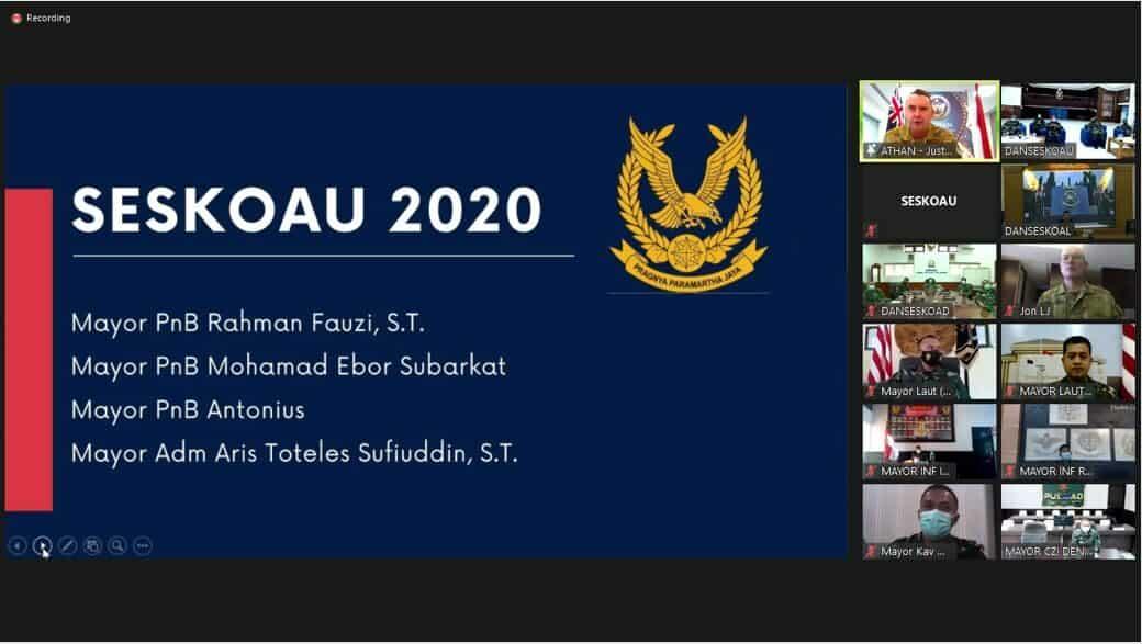 Empat Perwira TNI AU Terima Colin East Award 2020
