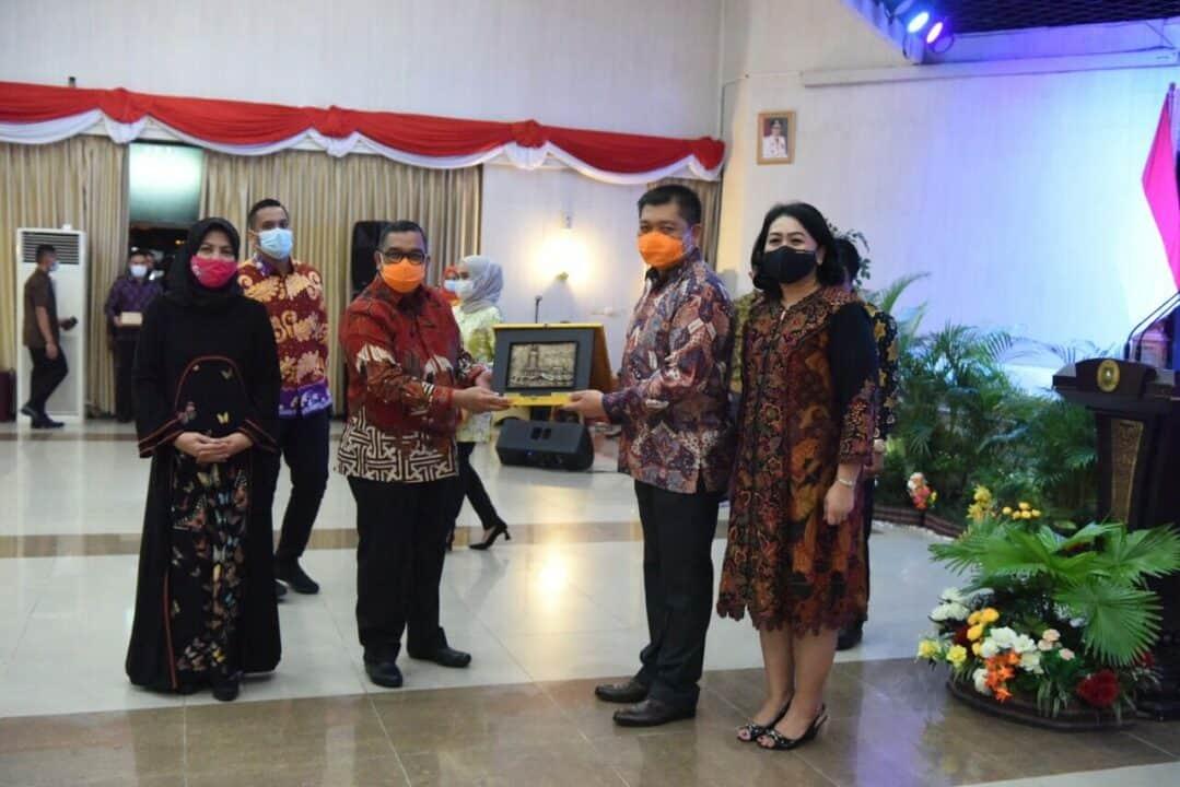Gubernur Riau Apresiasi Kinerja Danlanud Rsn