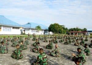 Awali Tahun 2021, Danyonko 462 Paskhas Laksanakan Jam Komandan