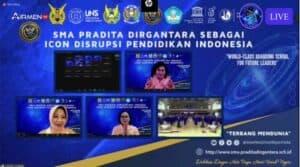 Danseskoau dan Ketua PIA AG CBS Seskoau Ikuti Talk Show SMA Pradita Dirgantara