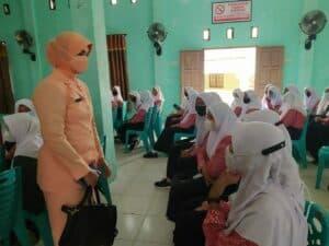 Danlanud dan Ketua Yasarini Lanud RSA Sosialisasi Try Out Nasional Gratis Bagi SMA